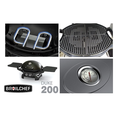 גריל גז DUKE 200 בעיצוב חדשי BROIL CHEF 22,000 BTU