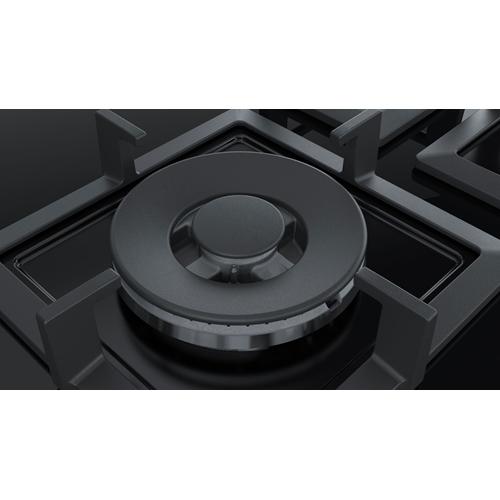 כיריים גז 5 להבות זכוכית שחורה Bosch PPQ7A6M20Y