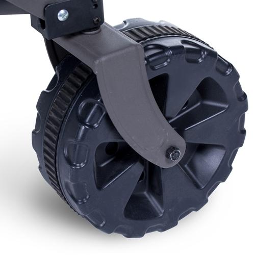 עגלת משא מתקפלת בעלת שלד חזק וצמיגים רחבים במיוחד
