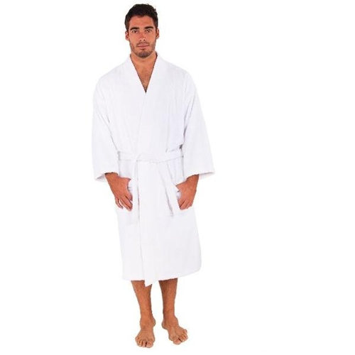 חלוק רחצה איכותי מבד מגבת 100% כותנה