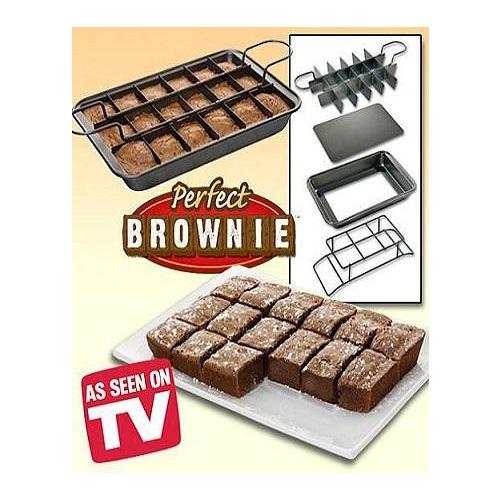 תבנית פטנט איכותית , PERFECT BROWNIE PAN