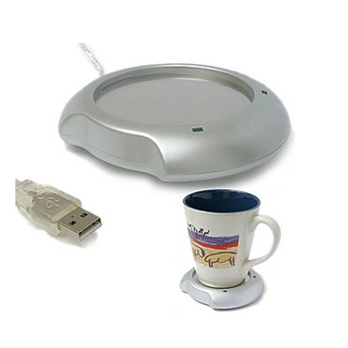 מחמם קפה ומפצל  Coffee Warmer - USB עם 4 כניסות
