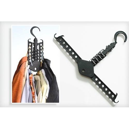 מתלה הפלא לבגדים מגדיל לכם את מקום האחסון בארון