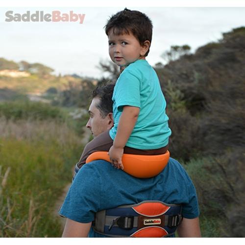 מנשא כתפיים לילדים SaddleBaby פטנט עולמי ייחודי