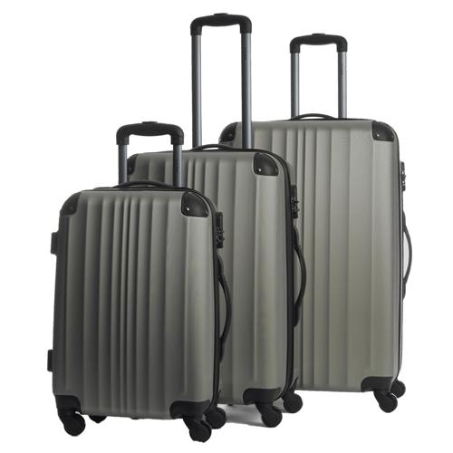 סט 3 מזוודות 20-24-28 דגם LUKAS
