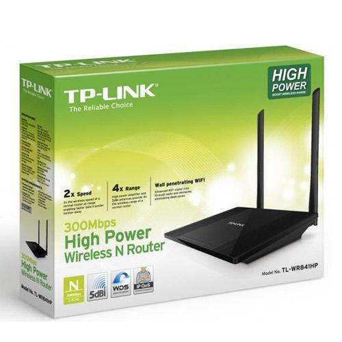 ראוטר TP-Link TL-WR841HP nMax High Power 300Mbps