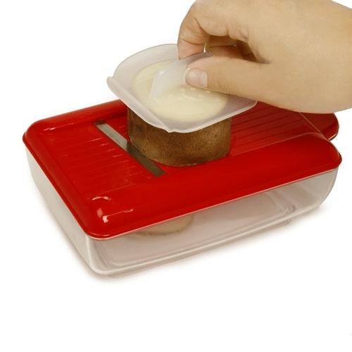 ערכה להכנת צ'יפס דק וקריספי במיקרוגל ללא שמן,