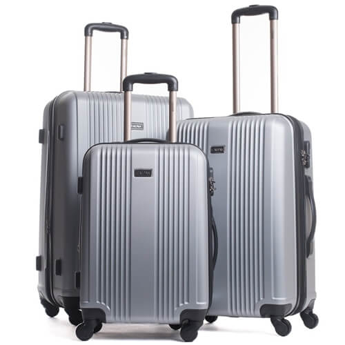 סט מזוודות קשיחות 3 יח' 20- 24- 28 Torrino