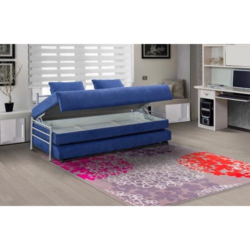 ספת ילדים ונוער על קל איכותית הנפתח למיטה זוגית