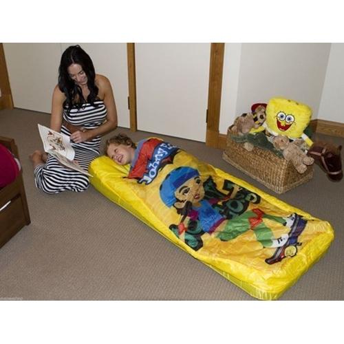 מזרן ילדים מתנפח עם שמיכה וכרית ונוחות מירבית