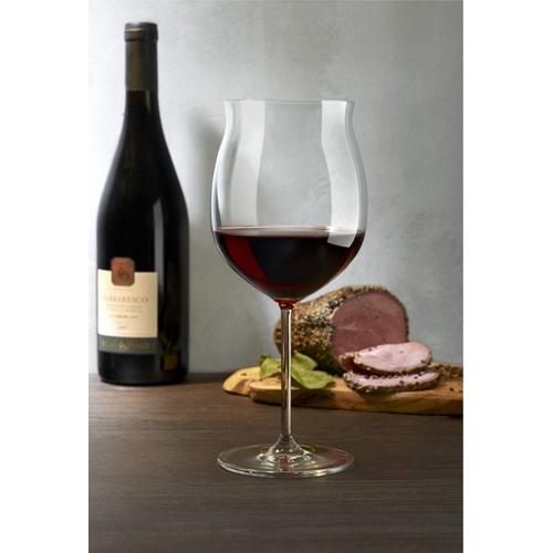"""סט 8 כוסות יין בורגונדי 725 מ""""ל מבית NUDE"""