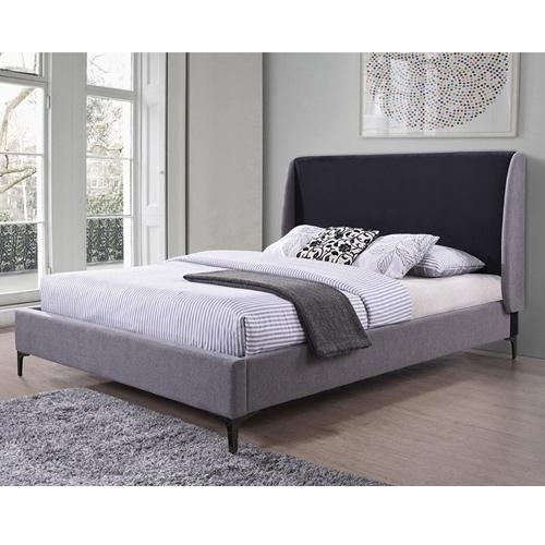 מיטה זוגית מרופדת בעיצוב ייחודי מבית HOME DECOR