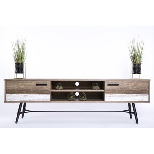 מזנון טלוויזיה בעיצוב מודרני מינימליסטי ונקי