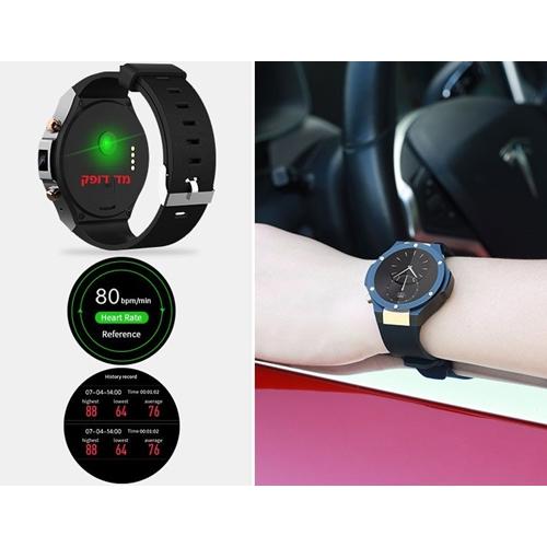 """שעון יד חכם 1.55"""" שילוב מתכת במגוון אפשרויות תצוגה"""