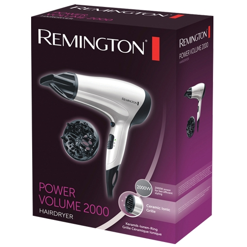 מייבש שיער Remington Power Volume 2000 דגם D3015