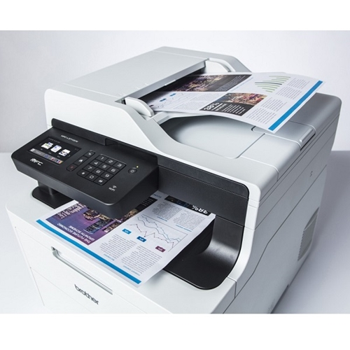מדפסת לייזר צבע משולבת אלחוטית מבית BROTHER