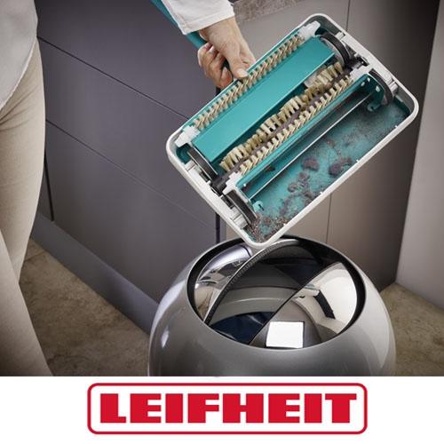 מטאטא שטיחים ידני ללא צורך בחיבור לחשמל LEIFHEIT