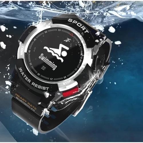 שעון ספורט משולב וחכם אטום למים עם מד דופק