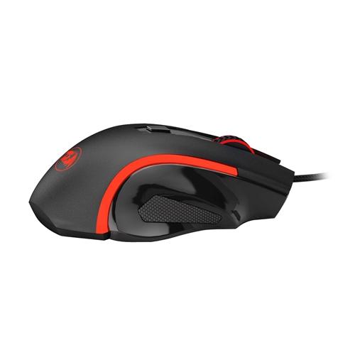עכבר גיימינג בעיצוב יוקרתי עם 6 לחצנים REDRAGON