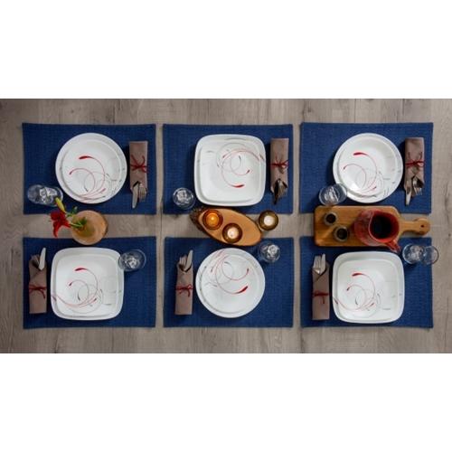 סט צלחות 6 סועדים של קורנינג דגם SPLENDOR VIVE