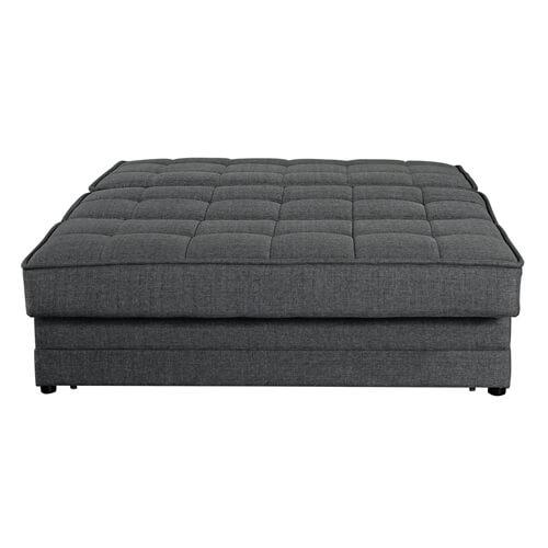 ספה נפתחת למיטה זוגית עם ארגז מצעים