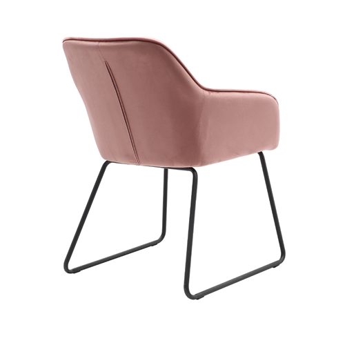 כורסא מעוצבת HOME DECOR דגם מרילנד ורוד