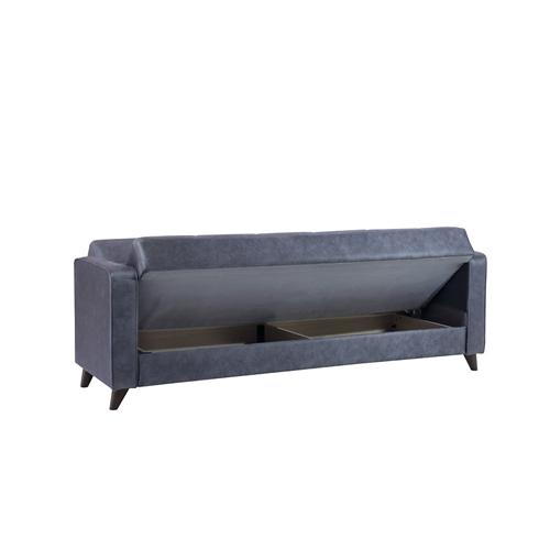 ספה תלת מושבית מעוצבת נפתחת למיטה דגם מנהטן