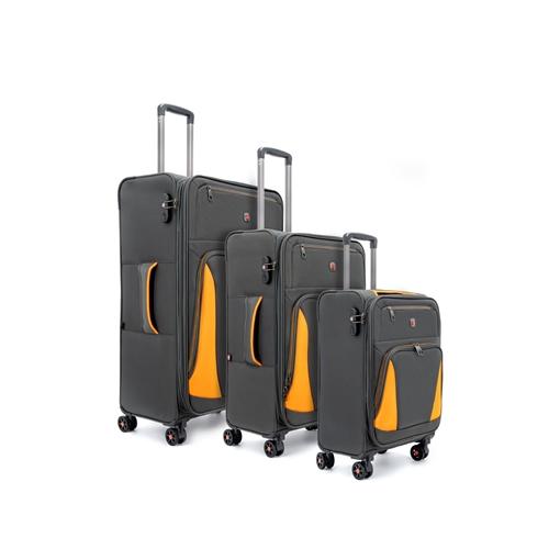 מזוודות קלות SWISS BRIEF מבד ELEMENT 20″24″28