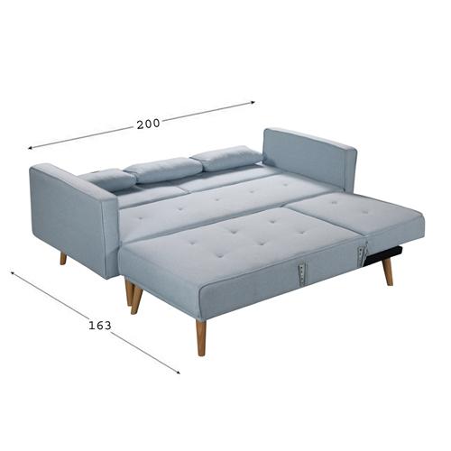 מערכת ישיבה פינתית נפתחת למיטה HOME DECOR לוטוס