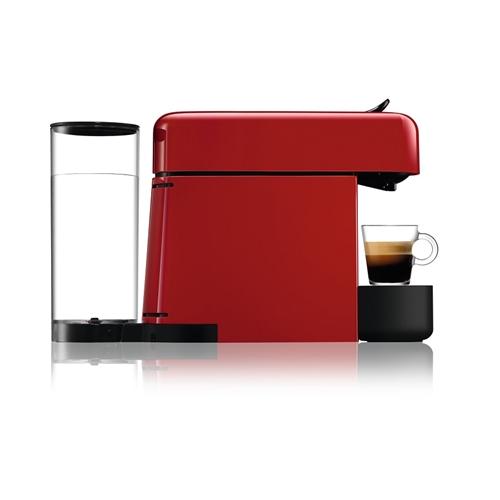מכונת קפה NESPRESSO אסנזה פלוס בגוון אדום + מקציף