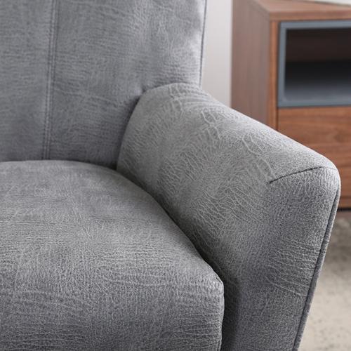 כורסא קלאסית מעוצבת מרופדת בד  HOME DECOR