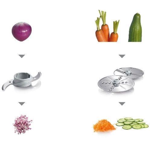מעבד מזון משולב Bosch דגם MCM3110W