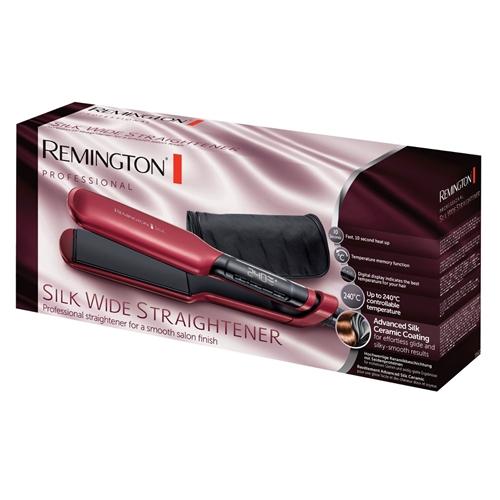 מחליק שיער משי קרמי רחב דגם S9620 מבית Remington