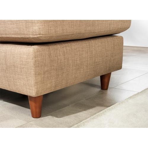 ספה פינתית מבד כולל הדום דגם: URBAN