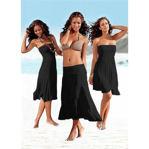 בגד חוף אקזוטי ומהמם ללבישה בשלושה אופנים שונים