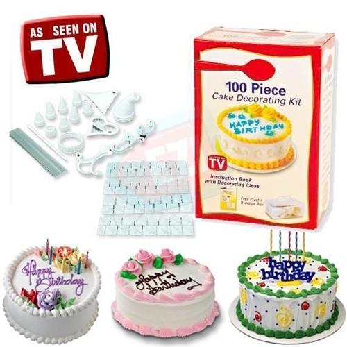 ערכת ה 100 חלקים להכנת עוגה Betty Crocker