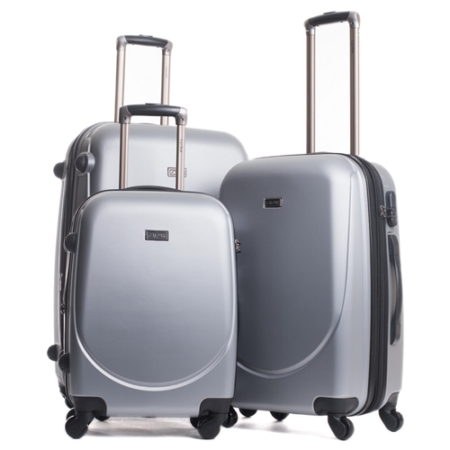 סט מזוודות קשיחות 3 יח' Calpaks דגם Valley