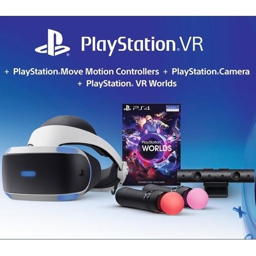 ערכת מציאות מדומה PlayStation 4 VR