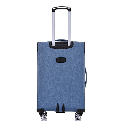 סט 4 מזוודות בד דגם Zurich