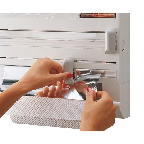 מתקן משולב לגלילים דיספנסר למטבח PARAT PLUS
