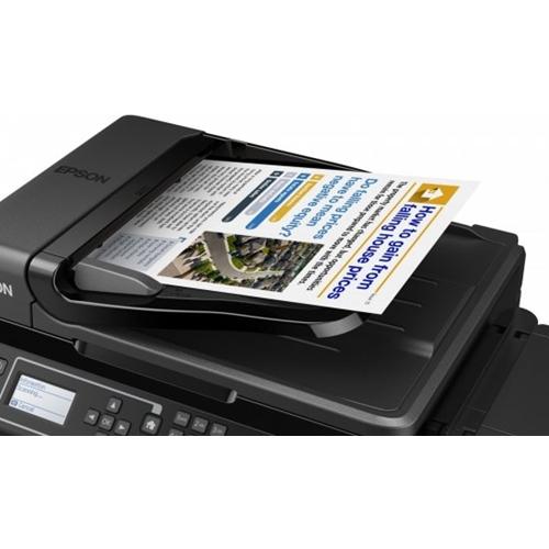 מדפסת צבע אלחוטית משולבת L565 On-demand מבית Epson
