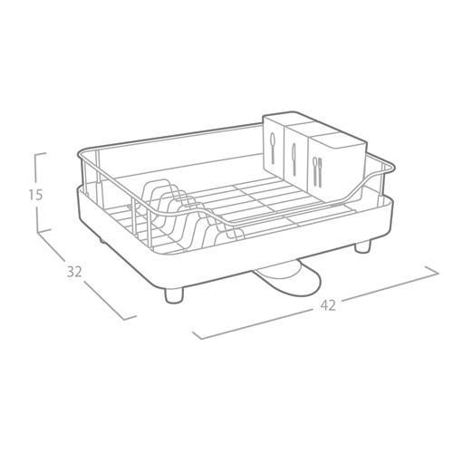 מתקן חכם לייבוש כלים מנירוסטה איכותית מבית OLIVIER