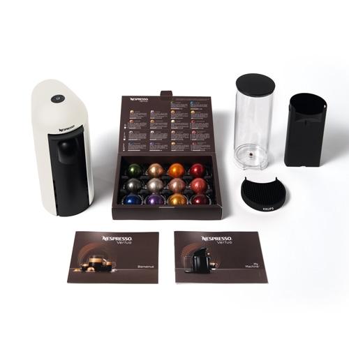 מכונת קפה VertuoPlus מבית NESPRESSO דגם GBC2 לבן