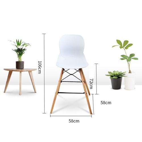 כיסא בר בעיצוב מודרני ייחודי דגם 5129 מבית TAKI IT