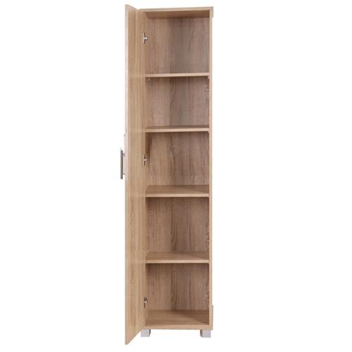 ארון דלת אחת בעיצוב קלאסי קומפקטי וטריקה שקטה