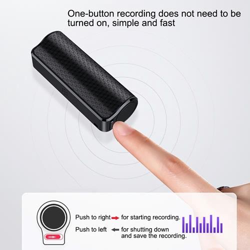 מקליט קול נסתר מקצועי Q70 PRO- זיכרון מובנה 8GB
