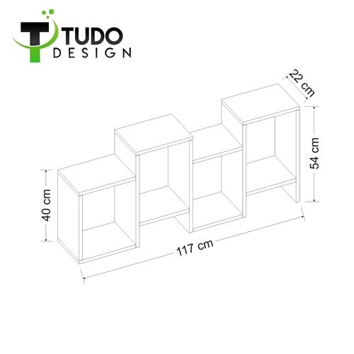 כוורת זיג זג 4 תאים Tudo Design דגם HYDRA