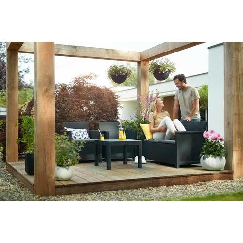 מערכת ישיבה לגינה או מרפסת דגם EMMA כתר