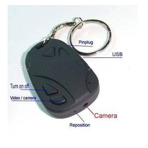 מצלמת ריגול בשלט רכב+מיקרופון וזיכרון פנימי 4GB