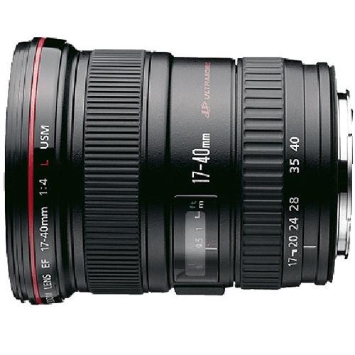 עדשה למצלמות SLR מקצועית Canon EF17-40mm f/4